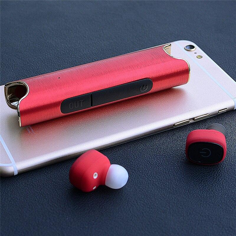 Binaural Sans Fil Étanche Bluetooth Casque S2 Mini TWS Magnétique De Charge Intra-auriculaires Sans Fil Jumelé Casque Écouteurs