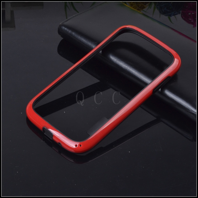 On Sale! NEW hybrid soft rubber protective frame tpu Bumper For Samsung galaxy Grand Guos i9082 Silicone cover phone bags cases