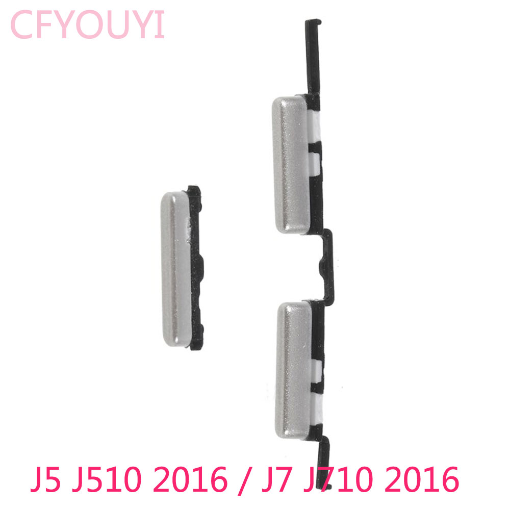 New Side Key Set Power And Volume Buttons Part For Samsung Galaxy J5 (2016) J510 / J7 (2016) J710