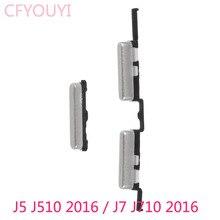 New Side Set di Chiavi di Accensione e Volume Bottoni Parte Per Samsung Galaxy J5 (2016) j510/J7 (2016) J710