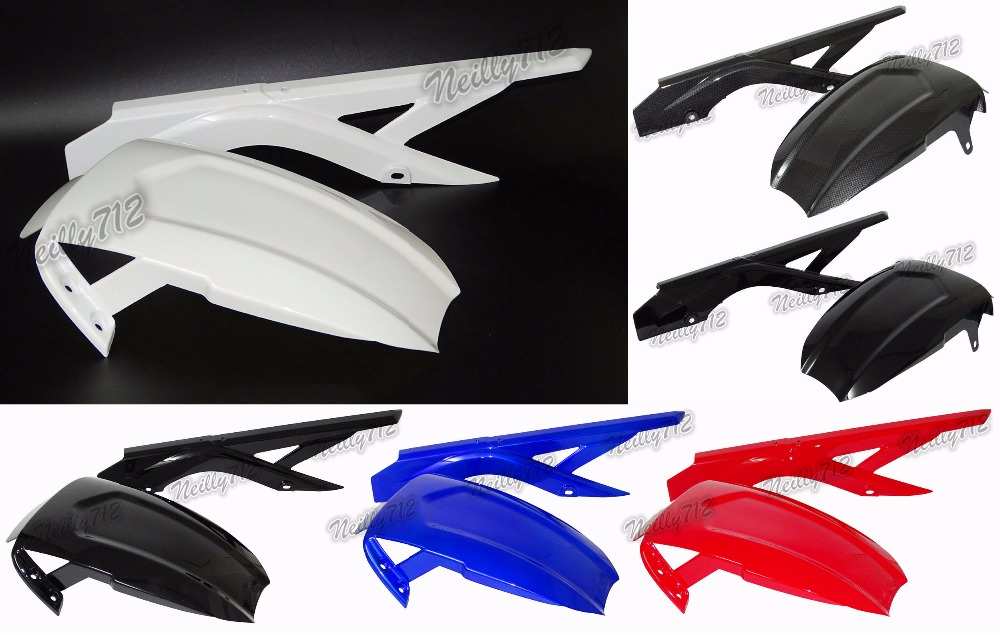 waase Motorcycle Rear Fender Set Refit Plate Mudguard Tire Wheel Hugger Mud Splash Guard Fairing For Yamaha YZF R3 R25 MT03 MT25 new bicycle mud guard mountain bike mud guard cycle road tyre tire front rear mudguard fender set mud guard