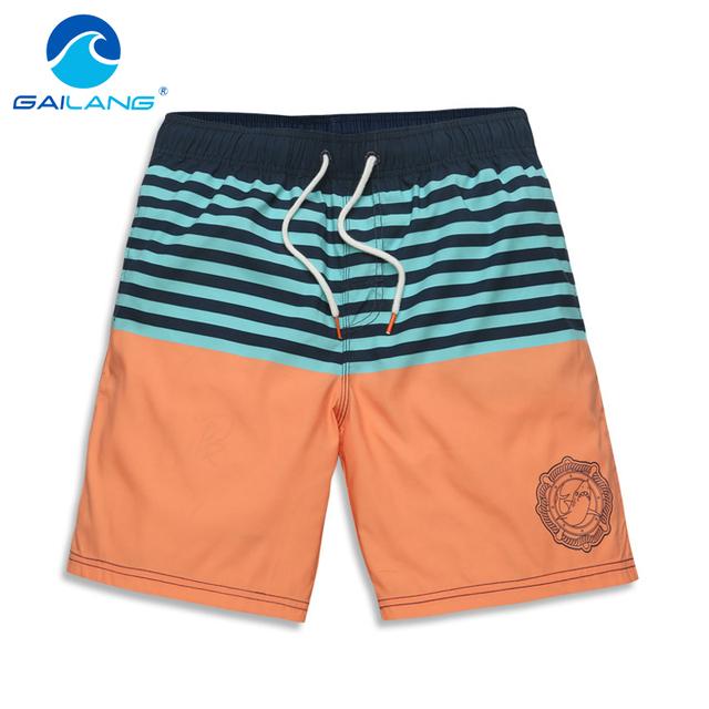 Gailang Hombres de la Marca de Playa de Secado rápido Shorts Hombres Trajes de Baño Bañadores Bañadores Hombre Pantalones Cortos Casual Sunga Bermudas Masculina