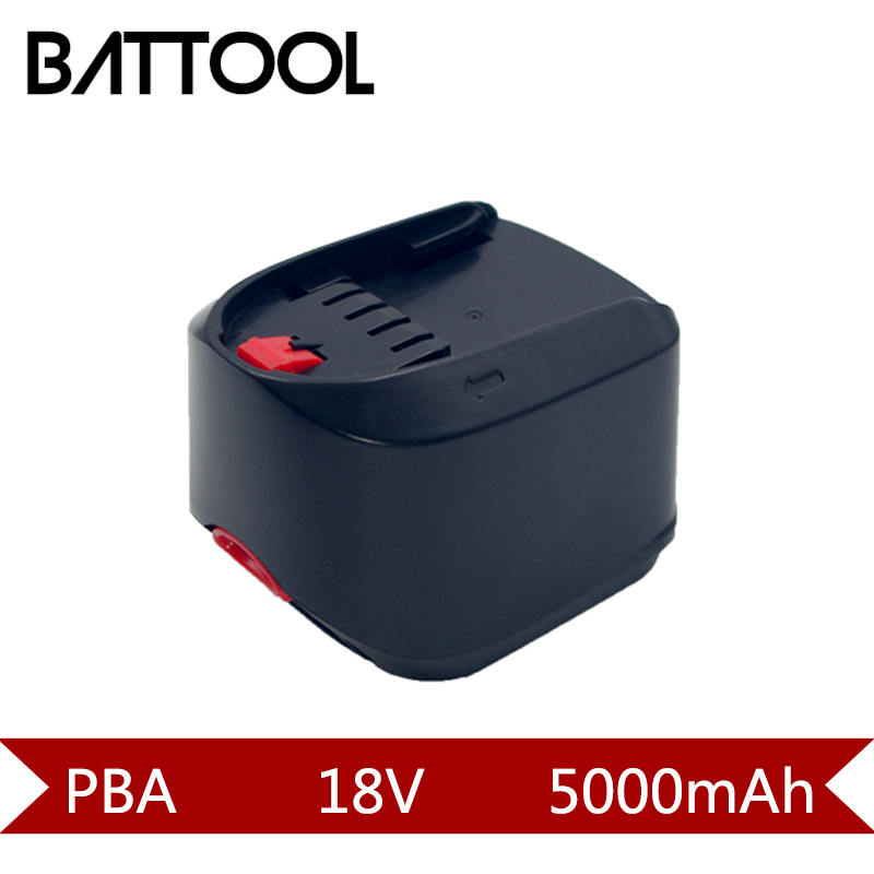 1X 5000mAh 18V Ni-MH Rechargeable Battery for Bosch PBA GreenModel