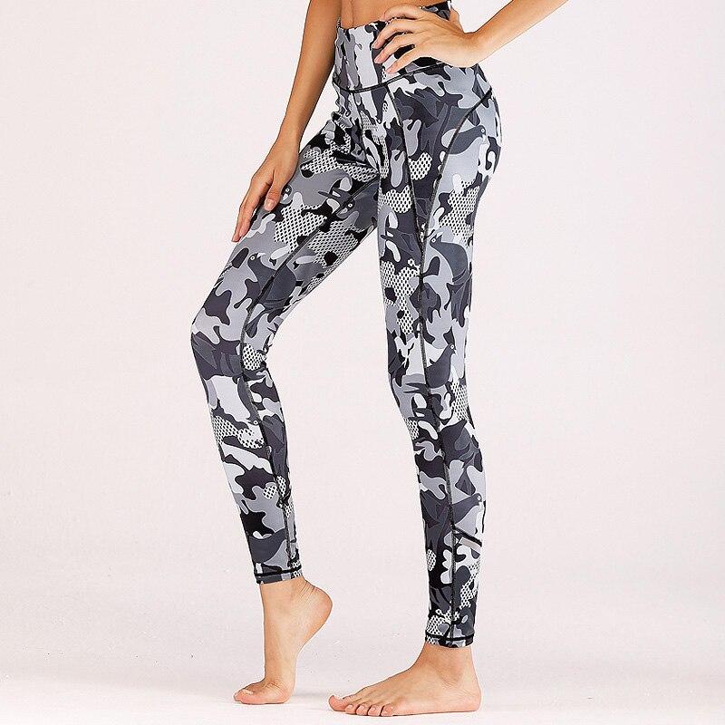 5c021ec5c38 Acheter BORNPAVI New Fitness Guêtres De Mode Femmes Imprimé Camouflage  Leggings Vêtements Legging Pour Femme Mode Scrunch Butt Leggings Pas Cher  Prix.