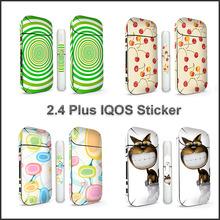 Zwięzłe drukowanie naklejek 3M dla IQOS IQOS 2 4 Plus materiał PVC Antiscratch dekoracyjne IQOS tanie tanio Mrs win Naklejki Sticker For IQOS