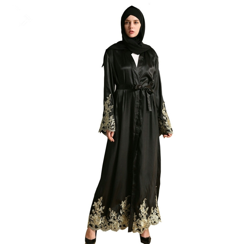 Buy satin abayas and get free shipping on AliExpress.com c0299b203fca