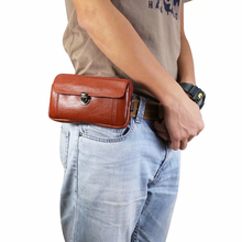 Universal Men Belt Clip Phone Bag Case For Samsung Note 9/Note8/A8 star iPhone/Xiaomi/Huawei/Sony/Asus Hang Waist