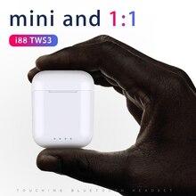 i88 Tws wireless earphones bluetooth headset Touch control Mini 1:1 For iPhone Andorid Headphones Pk i9s i100 i30 i80 i12 tws
