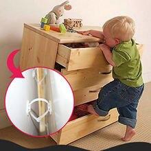 Детская безопасность 6 комплектов мебели анти наконечники ремни