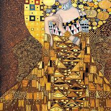 Густав Климт Женщина картины знаменитое произведение искусства Портрет Адель блох Бауэр репродукция маслом высокое качество ручная роспись