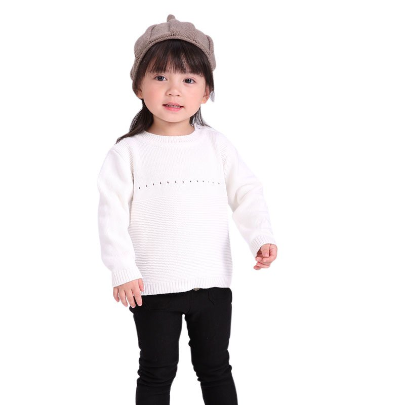 Winter Autumn Kids Long Sleeve O-neck Print Baby Boys Girls Sweater Toddler Girls Jumper Knitwear Rabbit Childrens Clothing