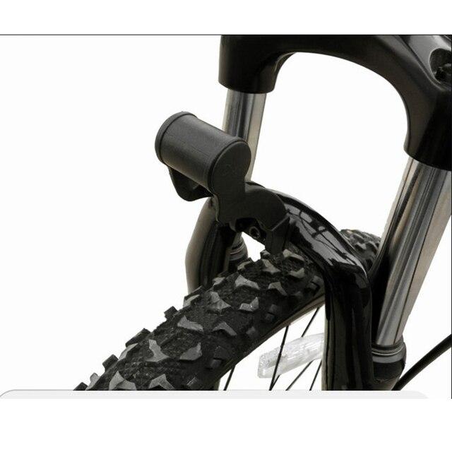 Mtb bmx bicicleta luz dianteira montagem da bicicleta garfo luz archmount extensão base lanterna extensor para dahon bicicleta luz
