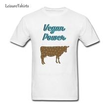 VEGAN POWER cow design t-shirt