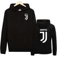 Eqmpowy Juventus Print Hoodies Men 2017 Autumn Winter Men Women Fleece Long Sleeve Sportswear Pullover Hooded
