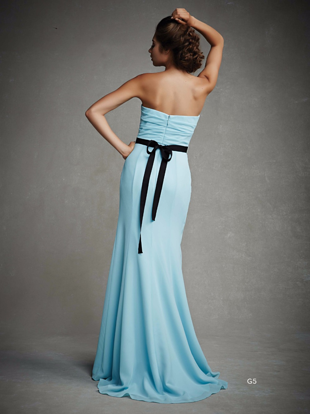 Simple robe soiree party evening elegant maxi dress vintage elegant ...