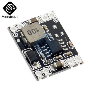 Mini Step Down Power Supply DC-DC Board Module 3A output 24V/12V to 5V 3.3V Buck Converter For Arduino Board Ultra-Small Size image