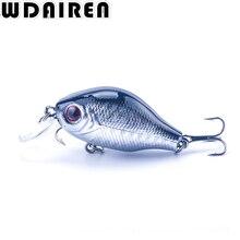 1Pcs 7.8g 5.5cm Topwater Wobblers Hard winter Fishing baits Tackle Swim bait CrankBait Bass Fishing Lures 5 Colors Pesca WD-204