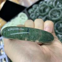natural green crystal quartz stone bangle natural gemstone jewelry bangle for woman for gift wholesale !