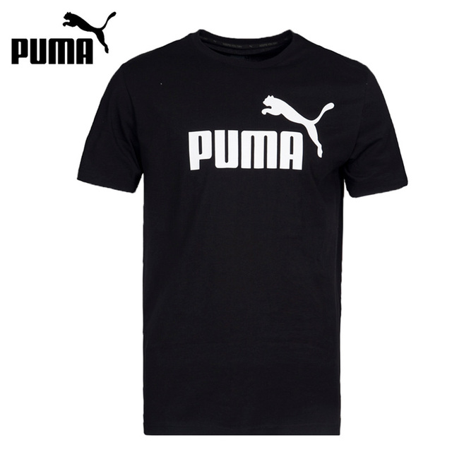 Original New Arrival 2017 PUMA ESS No.1 Tee Men's T-shirts short sleeve Sportswear
