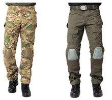Städtischen Taktische Hosen mit knieschützer Abnehmbare männer Military Airsoft Kampf Angriff Im Freien Sport SWAT Armee Hosen