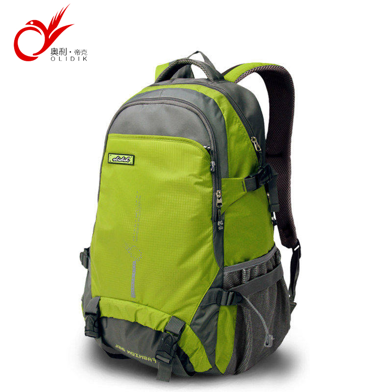 c22733b9c9 OLIDIK Fashion Nylon Women Men Bags Waterproof Travel Backpack 35L High  Quality Big Backpack Laptop Daypack Trekking Back Bags-in Backpacks from  Luggage ...