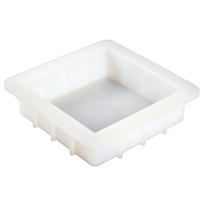 Image 1 - Square Silicone Soap Mold Handmade White Loaf Soap Mould Soap Making Tools