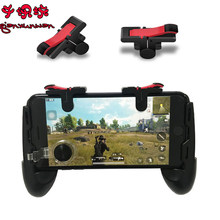 1 Pair PUGB Fortnited Fire PUBG Mobile Game Pad Phone D9 Joystick Trigger Button Mobile Controller Gamepad for Smart Phone(China)