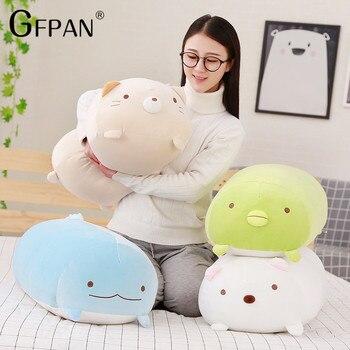 1pc 60cm Japanese Animation Sumikko Gurashi Plush Toys Cartoon Doll Soft Pillow Best Gifts for Kids Baby