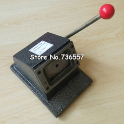 86x54mm Busines carte rond coin coupe papier carte coupe manuel bricolage poignée coupe