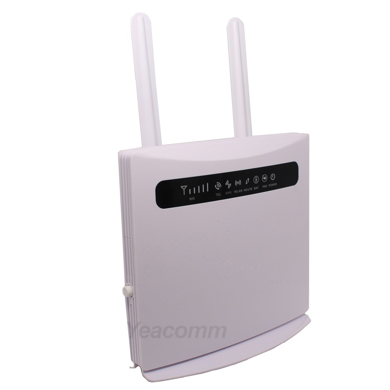 Yeacomm YF-P21 Indoor VoLTE RJ11 RJ45 TDD FDD 3g 4g LTE CPE Router With Sim Card Slot