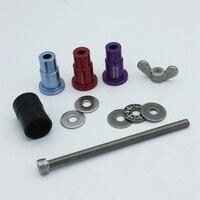 Remoção de bucha de ilhós de choque traseiro da bicicleta instalar ferramentas para a raposa ccdb du portátil|Ferramentas p/ reparo de bicicletas| |  -