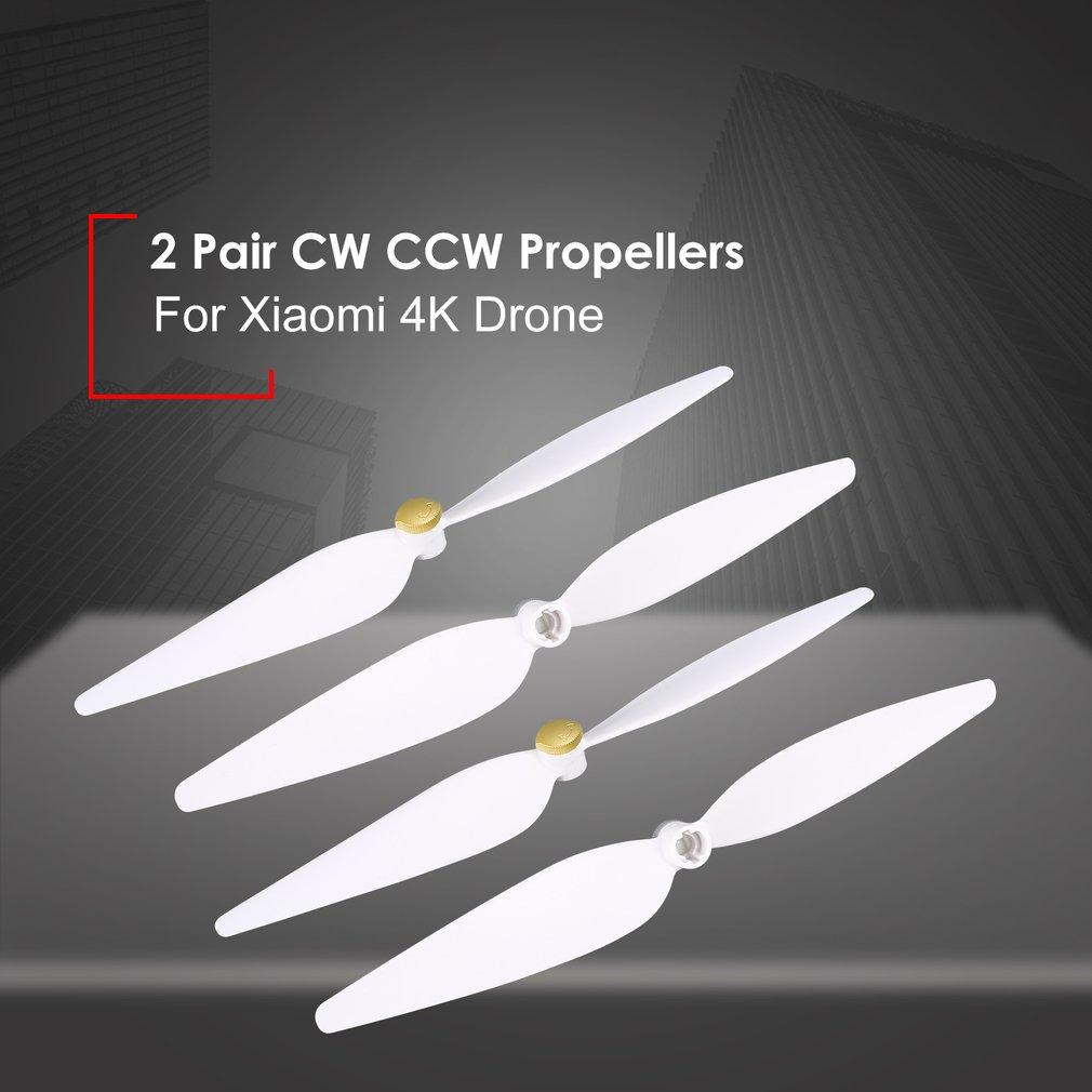Hot! 2 paires 10 pouces Hélices De Rechange Pièces Accessoires Set pour RC Xiaomi 4 k Version Drone 4 pcs Lames CW CCW Hélices RC Drone Accessoire