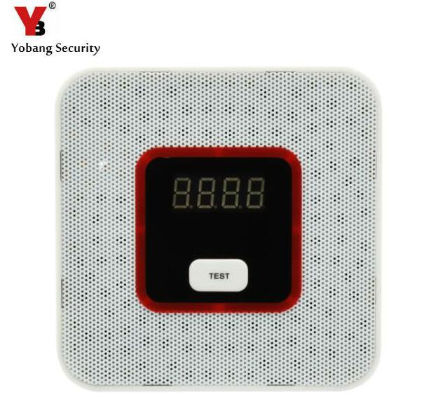 где купить  Yobang Security Natural Gas Leak Alarm Sensor With Voice Warning Alarm Sensor Home Secrity gas Sensor With Alarm Leak Detector  по лучшей цене