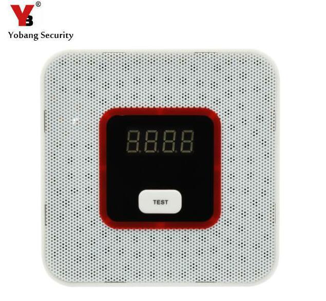 Yobang Security Natural Gas Leak Alarm Sensor With Voice Warning Alarm Sensor Home Secrity gas Sensor With Alarm Leak Detector