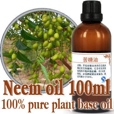 Grátis shopping100 % de óleos de base vegetal puro chinaberry óleo 100 ml óleo de nim prensado a frio matar os, Remover ácaros