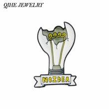 Qihe ювелирные изделия неполной сломанный светильник лампочка