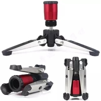 3/8 screw Tripod Monopod Support Stand Universal Stand Three Feet 3 Legs Monopod Support Stand Base For Manfrotto DSLR Came