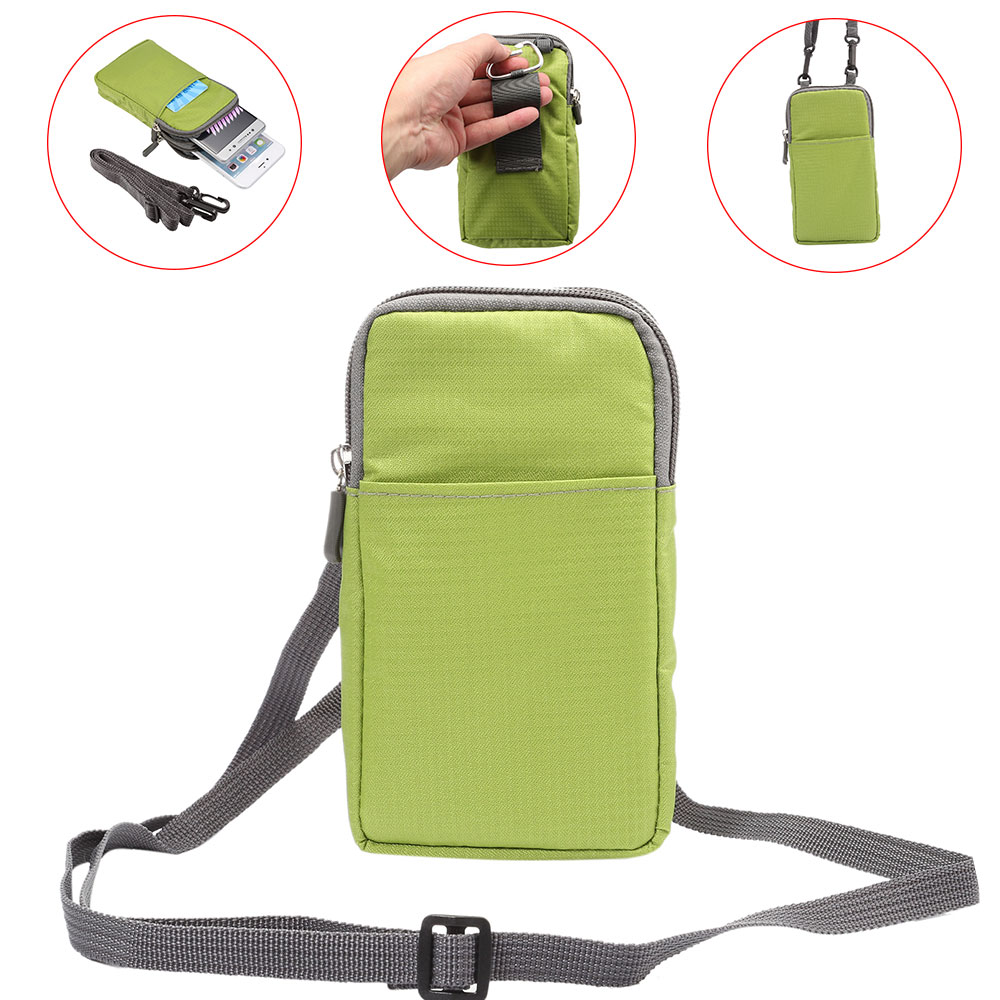 7 Plus Wallet Mobile Phone Bag Outdoor Army Cover Case Hook Loop Waist Pack For iPhone 6S For Sony For Huawei mate 9 Honor 8