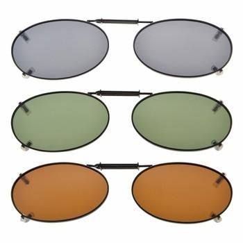 6323b7158 C74-mix eyekepper gris/marrón/G15 lente 3-pack polarizadas Clip-on ...
