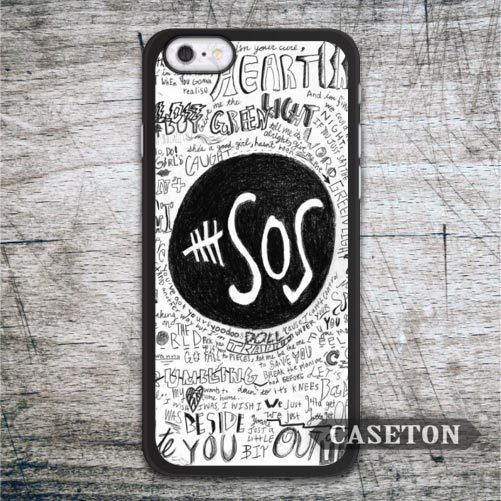 5s SEOS Quote Case For iPhone 7 6 6s Plus 5 5s SE 5c 4 4s and For iPod 5 Lovely Classic Band Protective Cover Wholesale