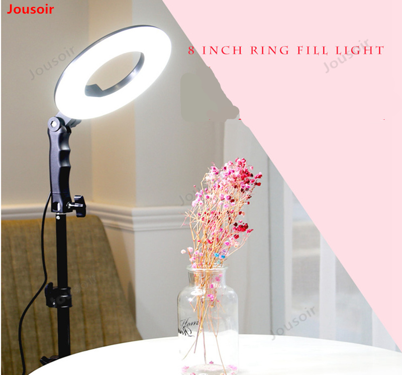 8 inch ring lamp lighting camera photo lamp with makeup mirror live beauty eye lamp CD50 T03 image