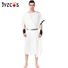 JYZCOS Medieval Ancient Greek Arabian Prince Costume Halloween Costumes for Men Party Fancy Dress