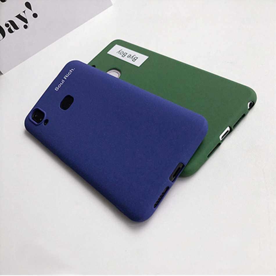 Caso Para vivo x21ud x9 x9s Telefone machadinha Azul Royal plus x5 plus v9 y85 Carta Dinossauro Verde de Plástico Rígido tampa traseira Fundas