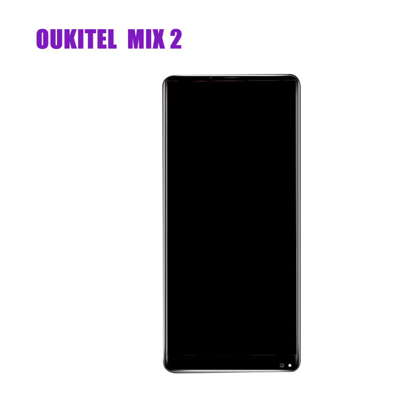 NEW  For OUKITEL  MIX 2 Lcd Display Assembly Complete and Touch Screen Digitizer part phoneNEW  For OUKITEL  MIX 2 Lcd Display Assembly Complete and Touch Screen Digitizer part phone