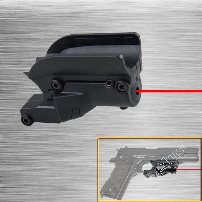 NEW Tactical Red Dot Laser Sight 5mw Laser for Pistol/Handgun Gun laser pointer for 1911 Pistol Free Shipping