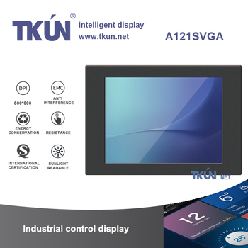TKUN 12.1 inch Resistance Highlight industrial displays Outdoor sunshine Can Visible Anti-interference 800*600  A121SVGA