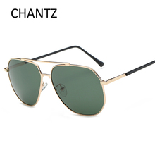 Vintage Metal Sunglasses Men Polarized 2017 Brand Driving Sun Glasses UV400 Mirror Shades with Alloy frame Zonnebril Mannen