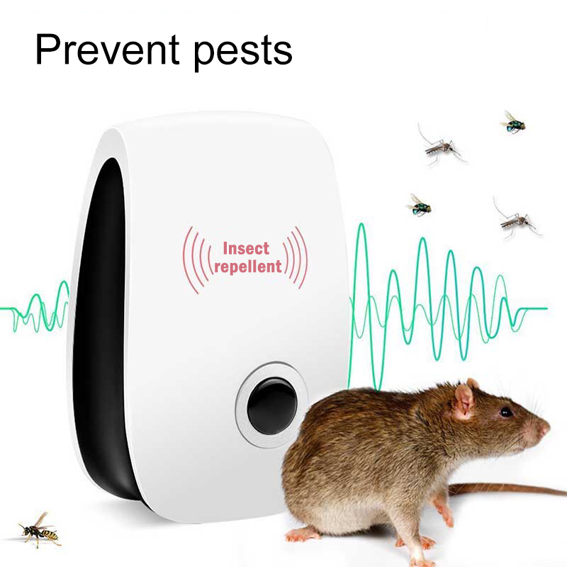 Electronic Ultrasonic Mosquito Killer USEU plug Reject Bug Mosquito Cockroach Mouse Pest Reject Magnetic Killer Repeller outdoor indoor (1)