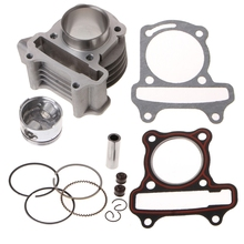 DUUTI New 47mm Big Bore Kit Cylinder Piston Rings fit for GY6 50cc to 80cc 4 Stroke Scooter Moped ATV with 139QMB 139QMA Engine goofit piston ring set for gy6 80cc atv go kart moped
