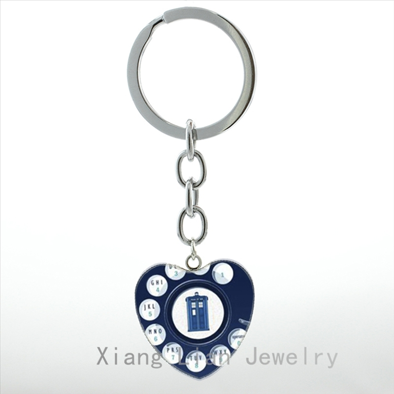 Jewelry Sets & More Supply European Science Ftion Tv Movie Case For Doctor Who Tardis Keychain Alaxy Time Machine Box Space Key Chain Ring Hp102 To Ensure Smooth Transmission Jewelry & Accessories
